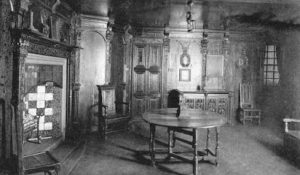 Old Photograph Dining Room John Knox House Edinburgh Scotland