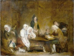 Family Worship Painting