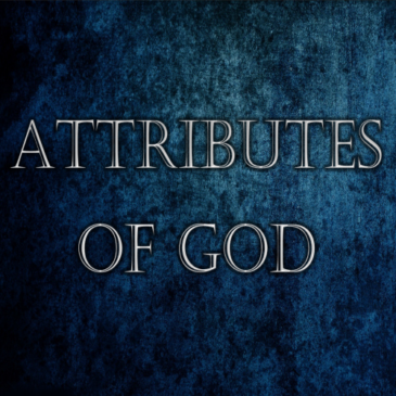 02 The Attributes of God – God's Decree