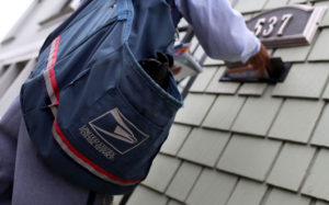 mail carrier bag letters costly sin
