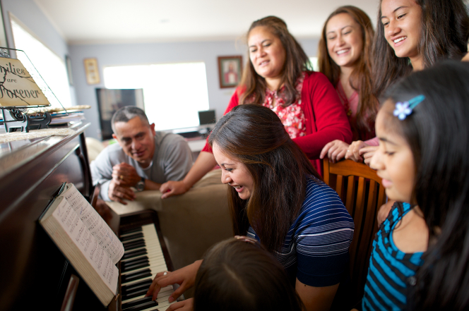 singing in family worship